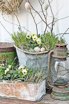 Osterdeko Für Den Garten - garten dekorieren zu ostern und fr 246 hlich festliche