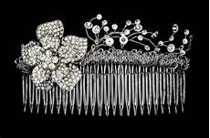 how to create a beautiful bridal hair comb