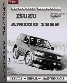 auto repair manual free download 1999 isuzu amigo parental controls isuzu amigo 1999 service repair manual repair service manual pdf