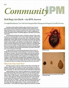 mmpc resources bed bug facts how to get rid of insects pests