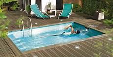 mini piscine nage contre courant petites piscines small is beautiful actualit 233 s