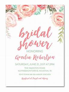 Shower Invitations printable bridal shower invitations you can diy