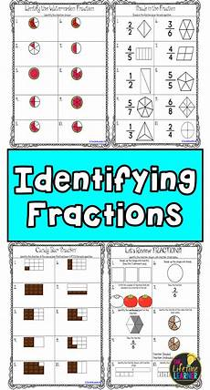 identify fractions worksheets fractions math fractions fractions worksheets