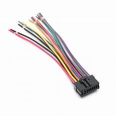 car 18pin power speaker wire stereo radio wiring harness
