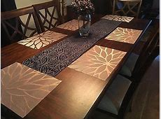 Set of 4 Kitchen Dining Table Placemats Washable Heat