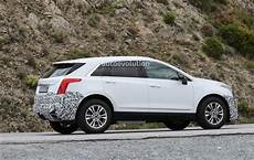 spyshots 2020 cadillac xt5 facelift testing in europe