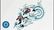Dessin Poisson Japonais Dessiner Une Carpe Ko 239 Japonaise