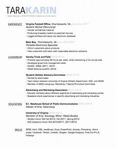 simple clean resume design with clear section headings resumes cover letters business
