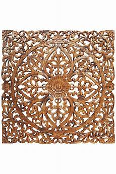 orientalische holz ornament wanddeko rajab 120cm gross