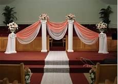 decorating with columns yahoo daddy dance church wedding