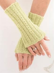 handschuhe stricken ohne finger pulsw 228 rmer mit kaffeebohnenmuster strickanleitungen
