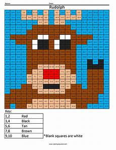 multiplication worksheets rudolph academy 4569 addition and subtraction rudolph coloring squared math school and