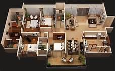 Denah Rumah Minimalis 1 Lantai 16 Denah Rumah