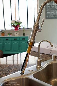 install kohler kitchen faucet how to install a kitchen faucet happiness is