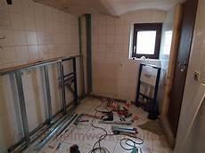 bad trockenbau vorwand badsanierung bad selbst renovieren die heimwerkerseite de