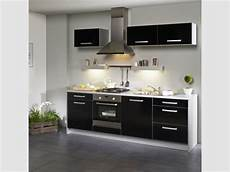 cuisine noir pas cher meuble de cuisine noir pas cher