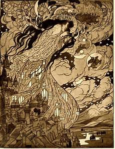 idle witch october illustrator sidney sime