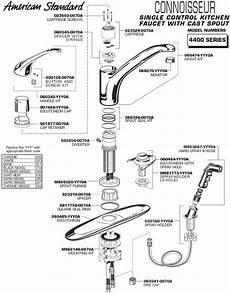 moen single handle kitchen faucet parts plumbingwarehouse american standard commercial faucet parts for model 4400