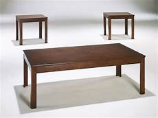 Modern Cherry Coffee Table 3 pieces modern rectangular cocktail coffee end side table