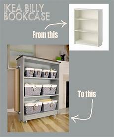 From Ikea Billy Bookcase To Rolling Craft Cart Giveaway