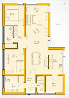grundriss moderner bungalow home in 2019 moderner