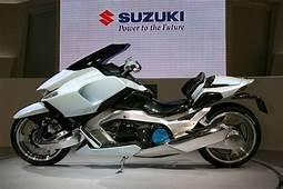 Suzuki G Strider 01 Electric Motorcycle Motorbike
