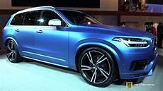 2016 volvo xc90 t6 awd r design exterior and interior