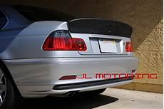 bmw csl style add on trunk spoiler e46 3 series coupe