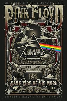 pink floyd rainbow theatre poster buy online at grindstore com