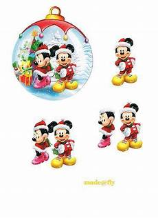 Mickey Mouse Bauble 3d Decoupage D Is Disney
