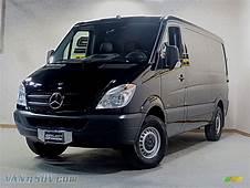 2013 Mercedes Benz Sprinter 2500 Cargo Van In Jet Black