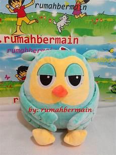 jual boneka roumang owl the heirs boneka burung hantu hijau 30 cm di lapak rumahbermain