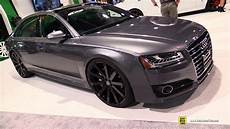 2017 Audi A8l With Velocity Wheels Exterior Walkaround