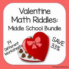 math riddles worksheets for middle school 10918 math riddles middle school bundle math middle school math practices