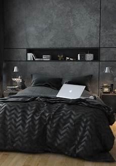 piumone nero da letto nera 20 idee per arredi di design in