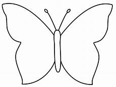 simple butterfly coloring page insects butterfly