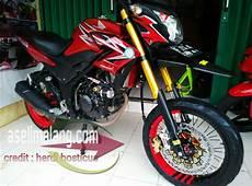 Cb150r Modif Trail by Honda Cb150r Supermoto Jangkung Sekedar Coretan