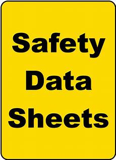 safety data sheets sign h1674 by safetysign com
