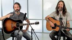 neal casal guitar chris robinson and neal casal are seduced by guitars acoustic guitar