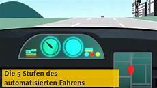 Autonomes Fahren Die 5 Stufen Zum Selbstfahrenden Auto Adac