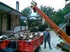 cerco usata trattore con sega circolare nastro carica legna e