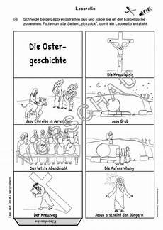Ausmalbilder Ostern Grundschule Die Ostergeschichte Ostern Bildkarten Und