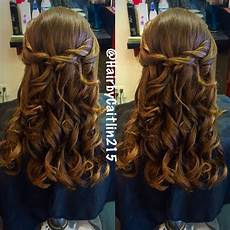 hairstyles for daddy daughter dance father daughter dance halfup hair style parkwood hairstyling 12337 academy road 215 637 1616