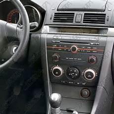 support autoradio 2 din mazda mazda 3 bk 2003 2007