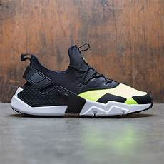 nike air huarache drift volt black white