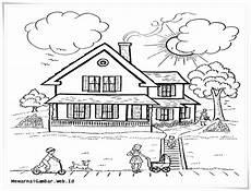 Gambar Lingkungan Rumah Hitam Putih Gambar Con