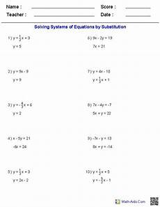 writing and solving systems of equations quiz answer key tessshebaylo