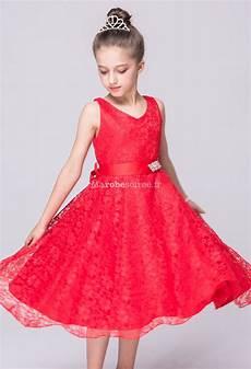robe ées folles robe de c 233 r 233 monie pour fille dentelle