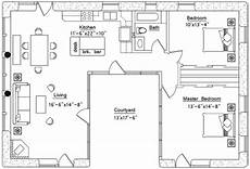 u shaped house floor plans u shaped house plan
