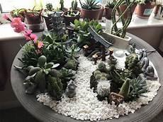 This Mini Japanese Garden With A Miniature Zen Garden